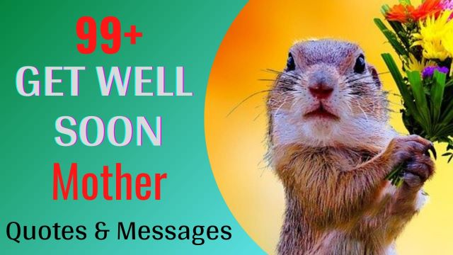 Get Well Soon Wishes Messages for Mother