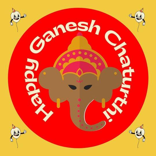Happy Ganesh Chaturthi DP for Whatsapp download