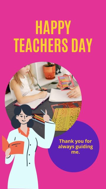 Happy Teachers Day Wishes status images